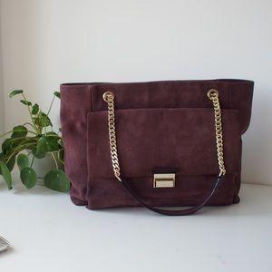 FINAL PRICE! Kate Spade purple/brown shoulder bag